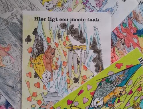 Heer Bommel kleurwedstrijd