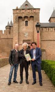 Seb van der Kaaden, Dick Matena en Bert Boer - foto Muiderslot