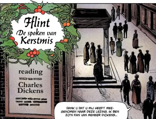 Kerststrip Fflint in Noordelijke dagbladen