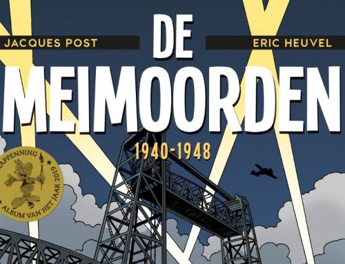 'De Meimoorden' gekozen als beste stripalbum van 2019